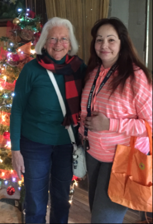 Ruth & Lizbeth in Tijuana.After retirement, Ruth was looking for an opportunity to continue ministry. With a tip from her daughter, Ruth began World Relief's window visit program, which connects volunteers with individual detainees who they can visit.